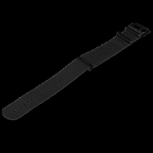 NATO Armband Schwarz | 24mm