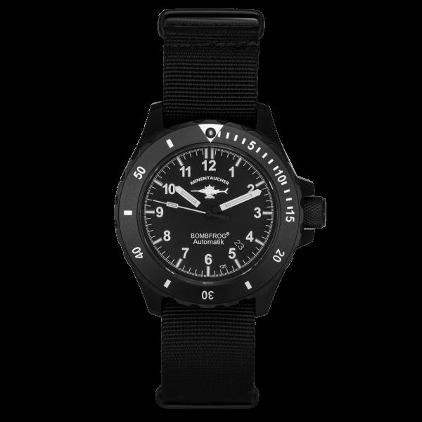 Minentaucher BT25 Black Edition | NATO Strap
