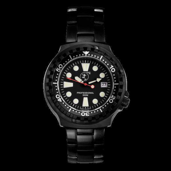 Professional 500 black | Edelstahl Armband