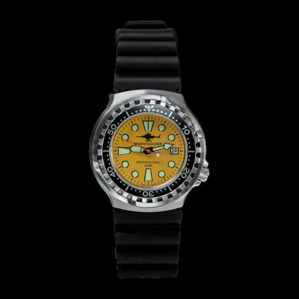 Minentaucher Professional 500 yellow | rubber strap