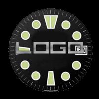 BOMBFROG Zifferblatt Individualisierung mit Ihrem Logo