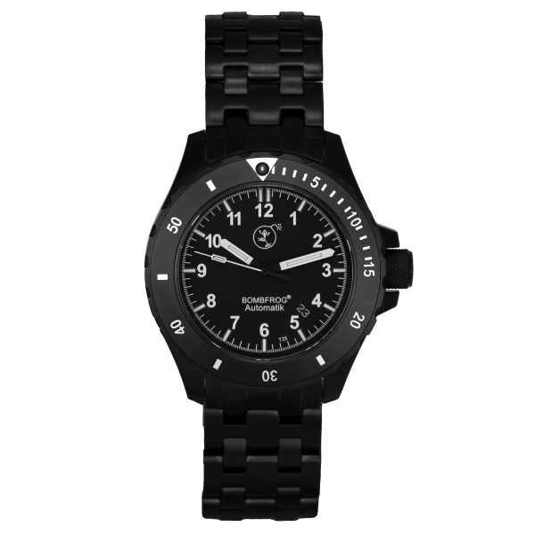 BT 25 Black Edition | Edelstahl Armband